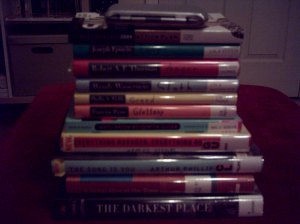 Read-a-Thon Stack, April 2009